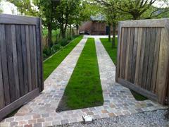 Portail et ouvrages bois (jardinière, bac, palissade…)