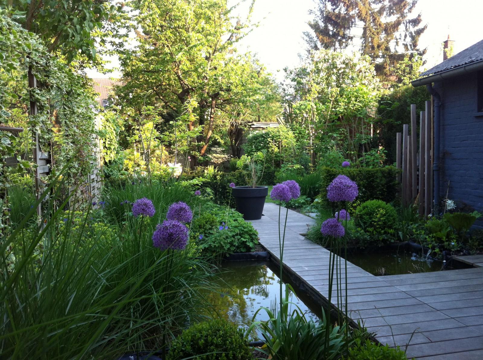 Architecte paysagiste terrasses jardins nord lille for Jardins exterieurs