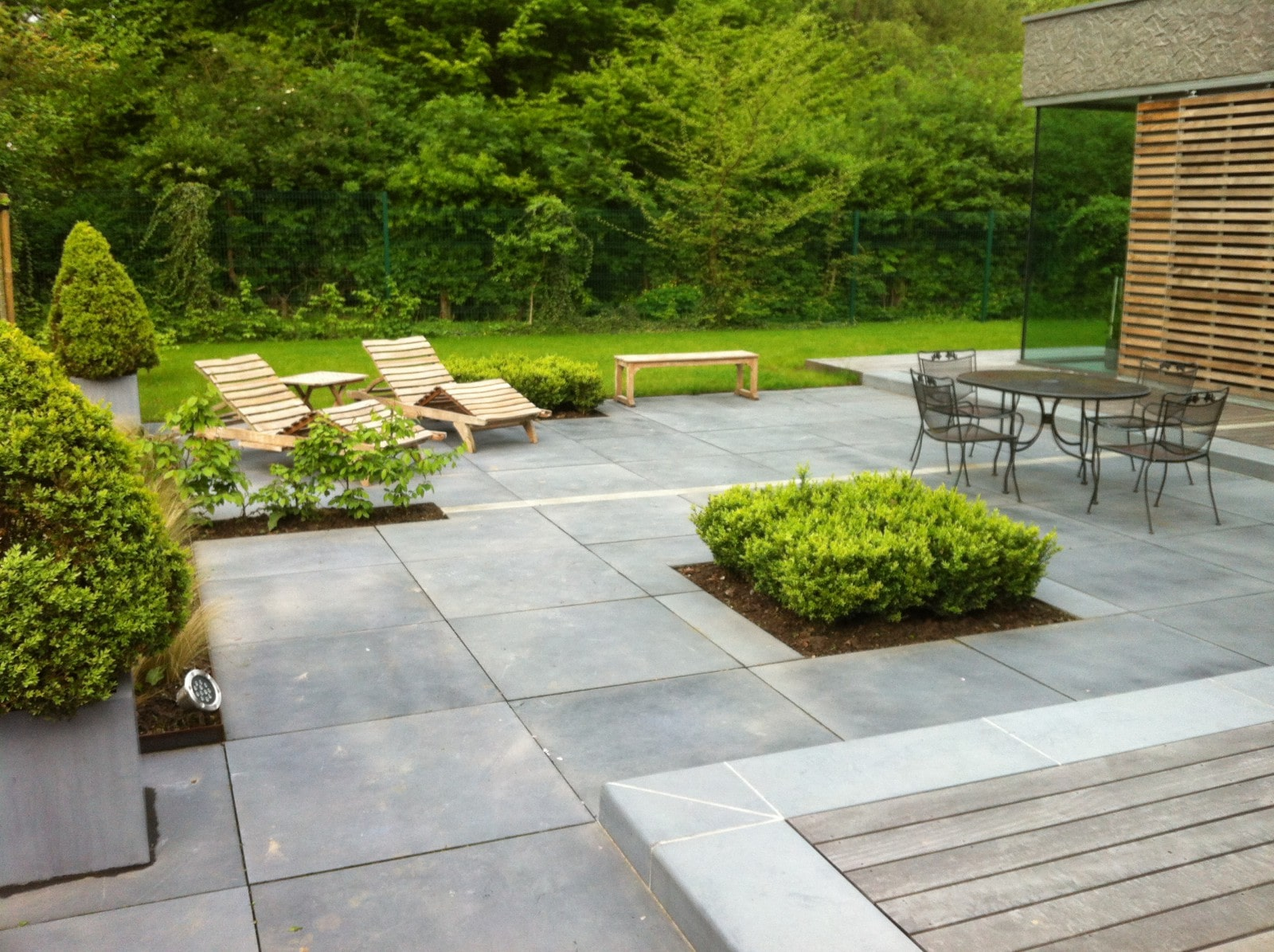 garden patio designs pictures