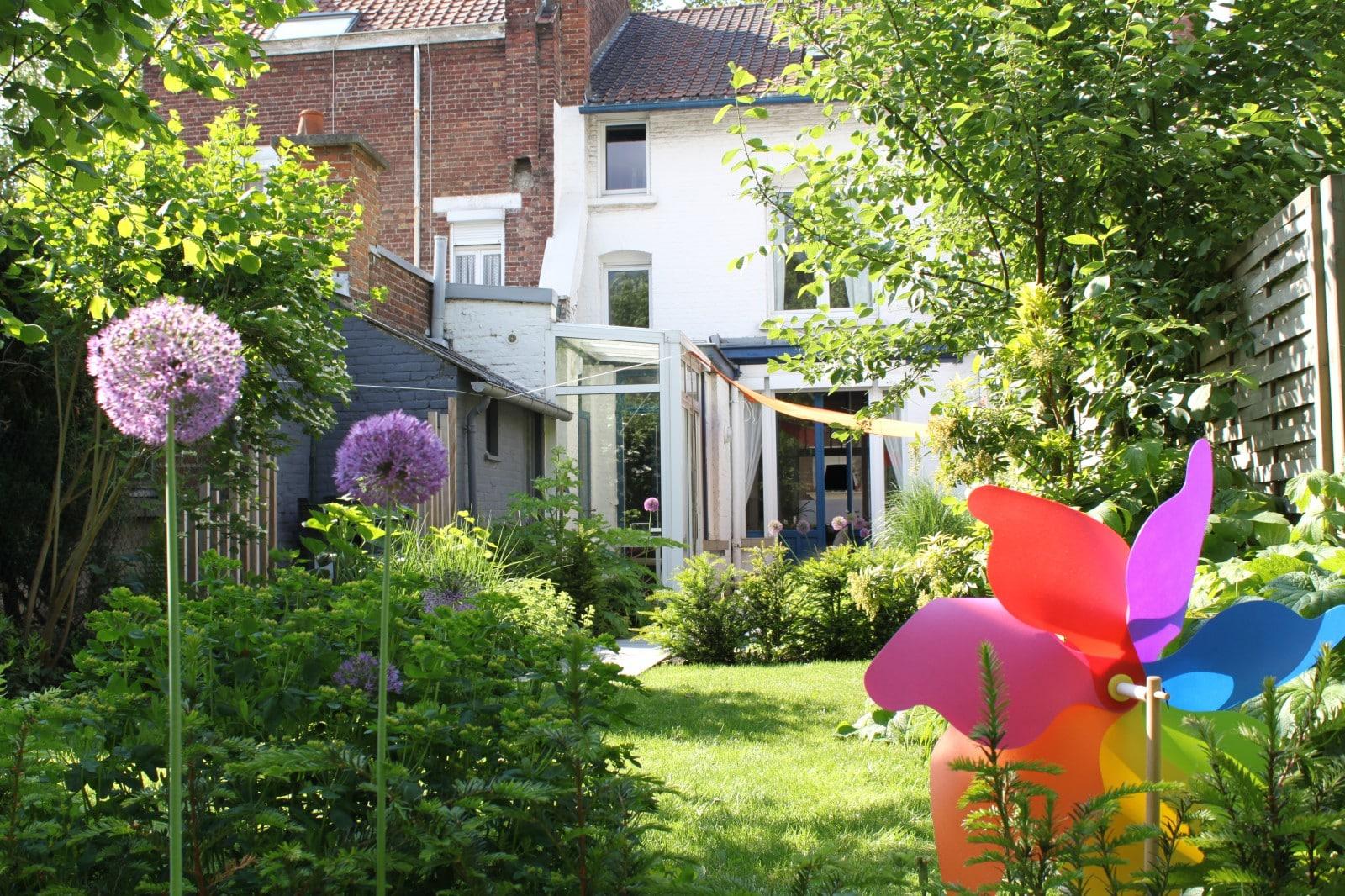 cloisonner une terrasse de jardin