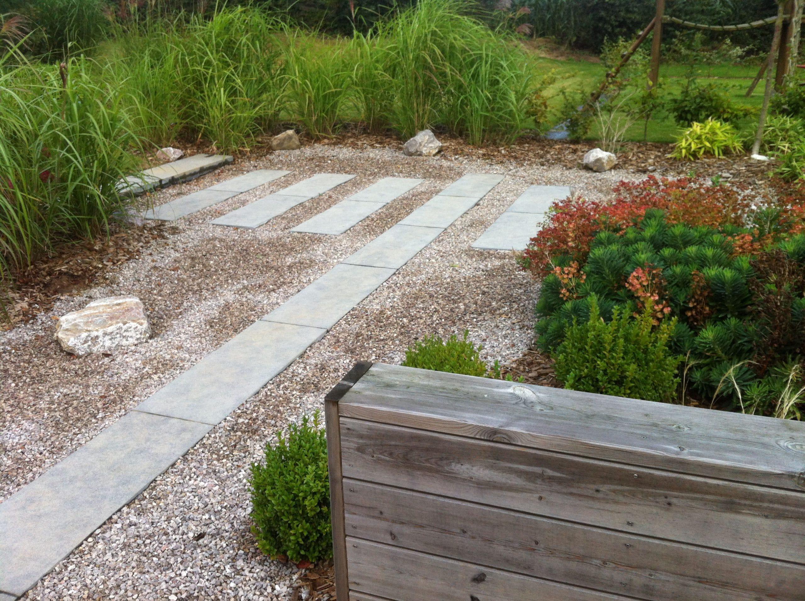 Terrasse escoeuilles 62 pas de calais home ext rieur - Pas japonais pierre bleue ...