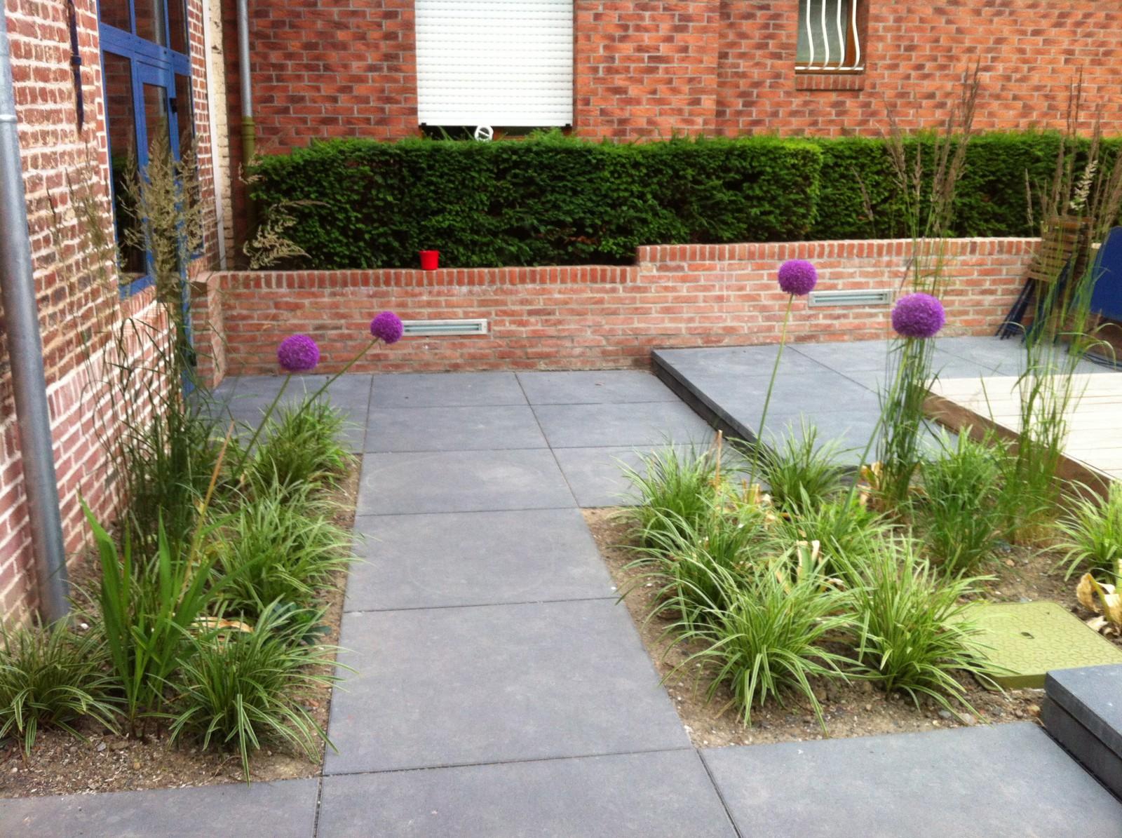 Terrasses ext rieures pour le restaurant la grange lomme - Plot beton petit format pour terrasse ...