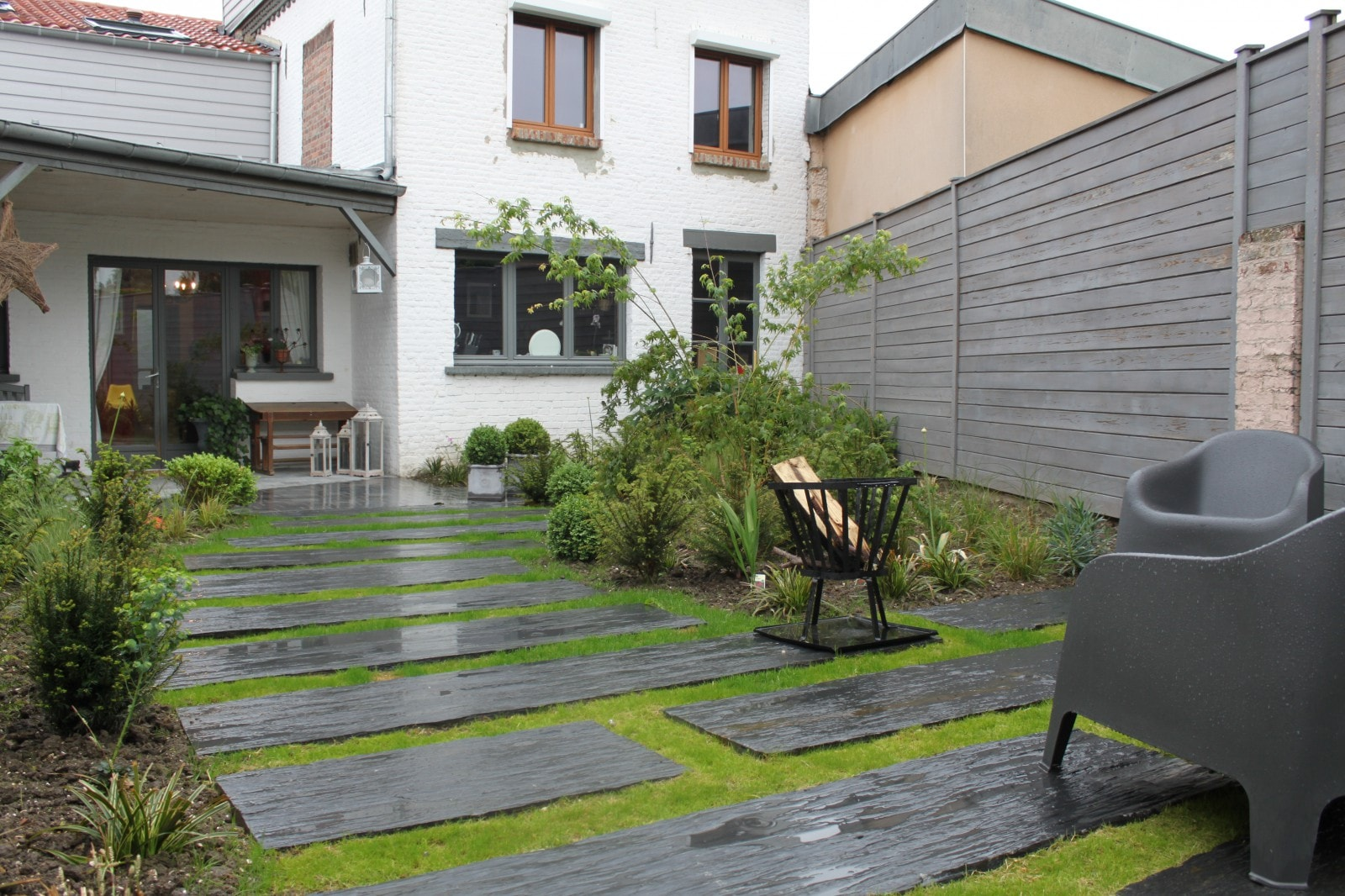 am nagement acc s pi ton et terrasse templemars 59 nord. Black Bedroom Furniture Sets. Home Design Ideas