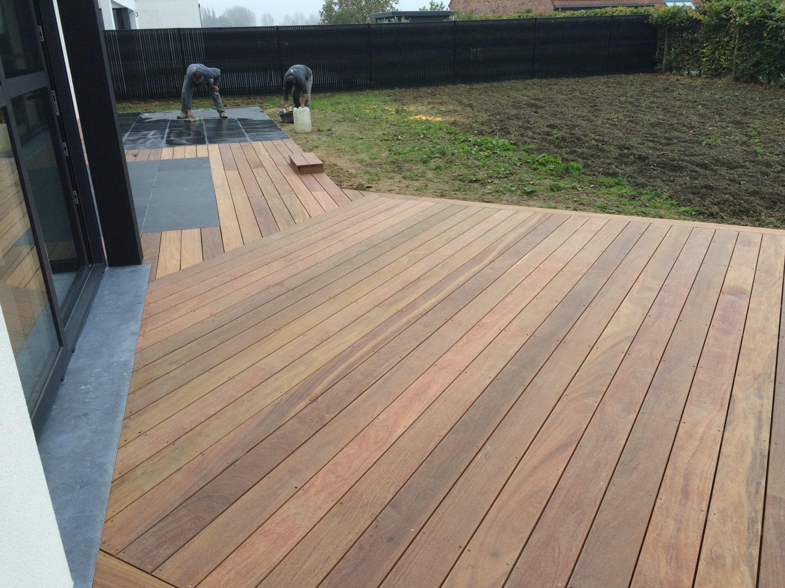 terrasse bois exotique ipe