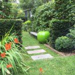 home exterieur terrasse ipé bois exotique pierre bleue belge plantation mobilier architecte paysagiste Lambersart Nord Lille Hauts de France