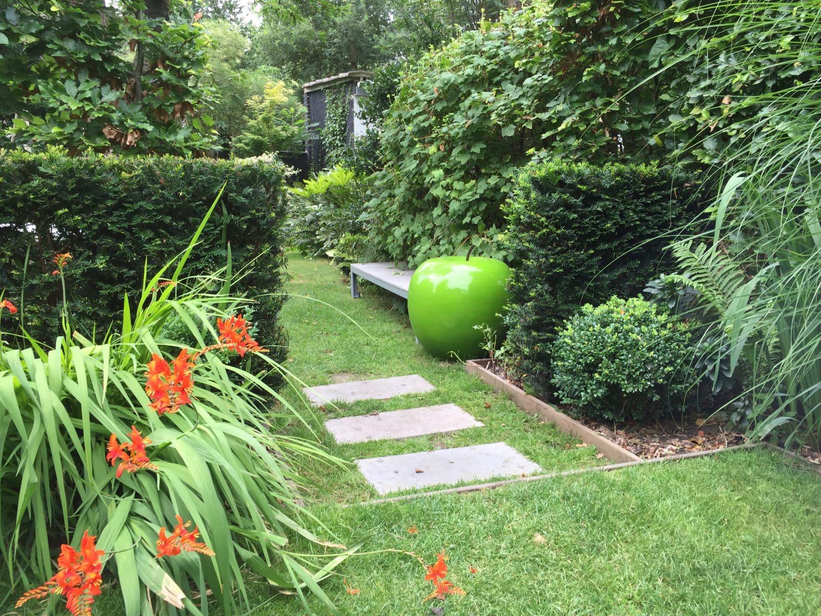Cr ation et am nagement de jardin paysager home ext rieur for Jardin oriente nord