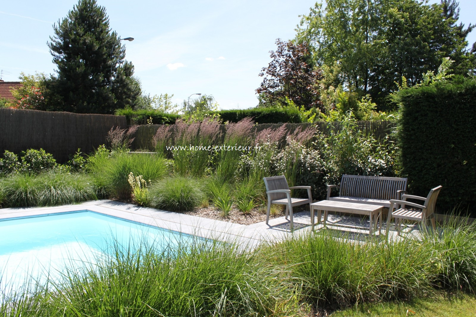 Am nagement abords de piscines et spas home ext rieur for Home piscine