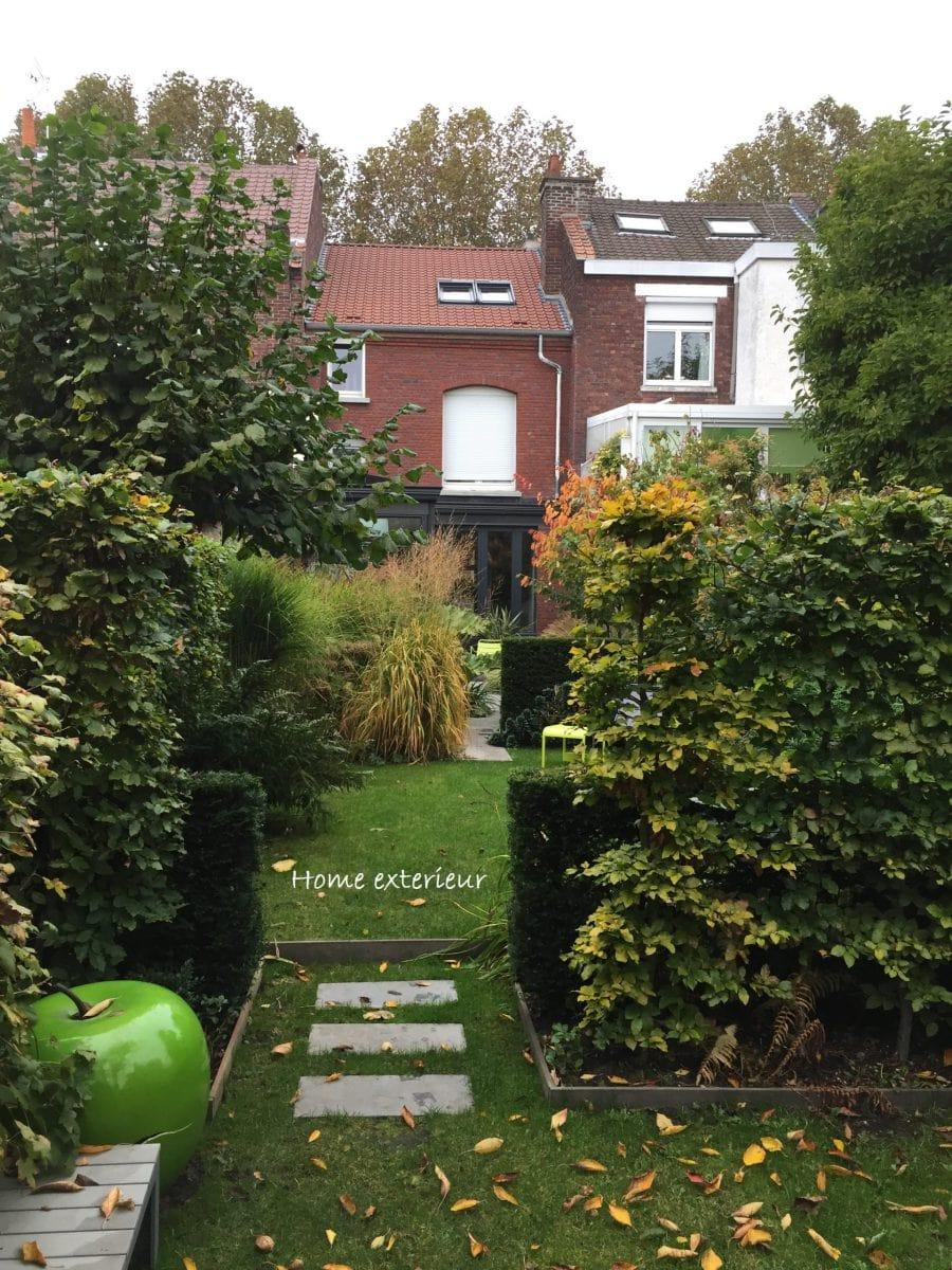 jardin de ville et terrasse à lambersart (59 - nord) - architecte