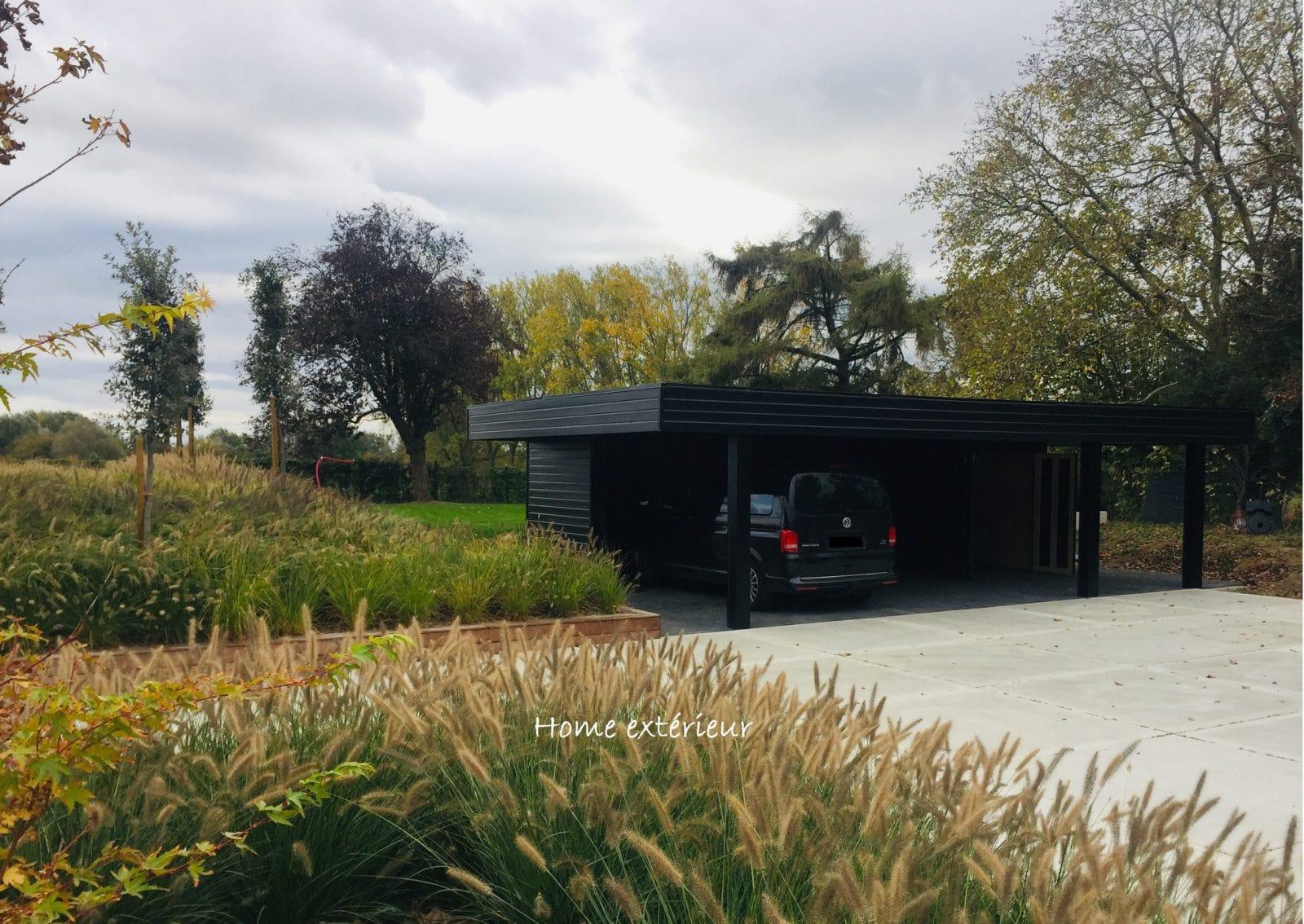 Aménagement Entrée Maison Extérieur aménagement d'extérieur ambiance contemporaine   home extérieur